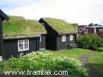 Houses in the old part of Tórshavn